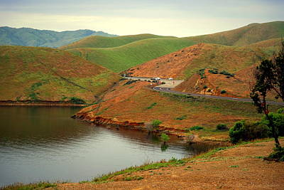 Luis Sales Photograph - San Luis Reservoir At Pacheco Pass by Joyce Dickens