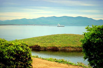 Luis Sales Photograph - San Luis Reservoir by Joyce Dickens