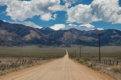 Photograph - San Luis Valley Back Road Cruising by James BO Insogna