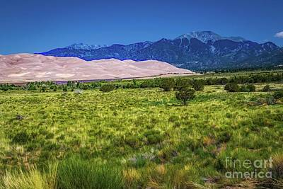 Photograph - San Luis Valley Grat Sand Dunes National Monument by Jon Burch Photography