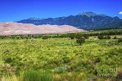 Photograph - San Luis Valley Sand Dunes by Jon Burch Photography