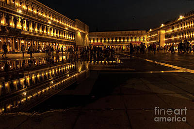Photograph - San Marco Night by Marina Usmanskaya