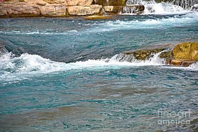 Photograph - San Marcos River Rapids Texas by Ray Shrewsberry