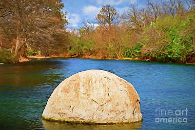 Photograph - San Marcos River Texas 156 by Ray Shrewsberry