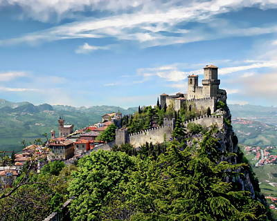 Photograph - San Marino Panorama by Anthony Dezenzio
