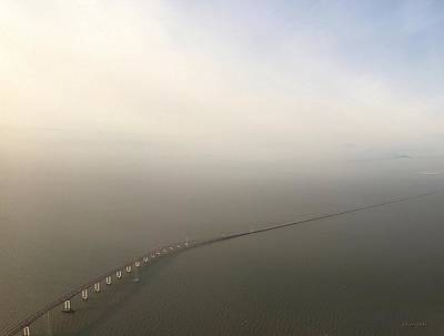 San Mateo Bridge Fog