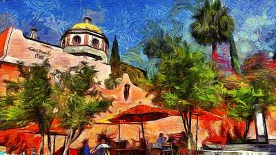 Impressionism Photograph - San Miguel De Allende #4 by Jean-Marc Lacombe