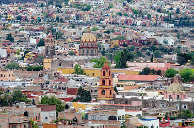 Photograph - San Miguel De Allende by Rob Huntley