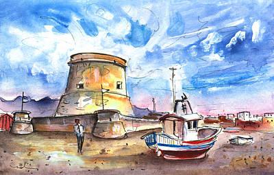 Miguel Art Drawing - San Miguel De Cabo De Gata 02 by Miki De Goodaboom