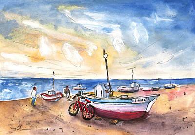 Miguel Art Drawing - San Miguel De Cabo De Gata 03 by Miki De Goodaboom