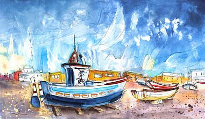 Miguel Art Drawing - San Miguel De Cabo De Gata 01 by Miki De Goodaboom