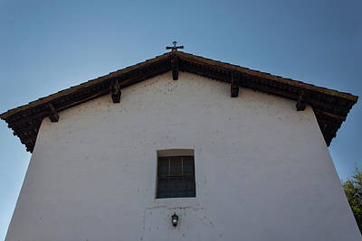 Photograph - San Miguel Mission Detail by Suzanne Gaff