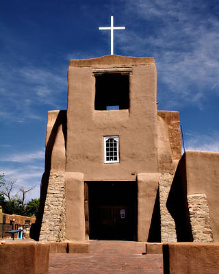 Photograph - San Miguel Mission by Lana Trussell