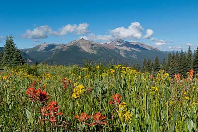 Photograph - San Miguel Mountains by Cascade Colors
