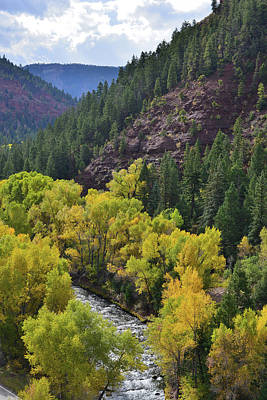 Photograph - San Miguel River Near Sawpit Colorado by Ray Mathis