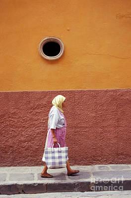 Photograph - San Miguel Woman San Miguel De Allende Mexico by John  Mitchell