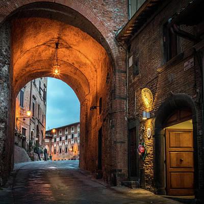 Photograph - San Miniato Piazza by Michael Thomas