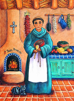 Wall Art - Painting - San Pascual In Blue by Candy Mayer