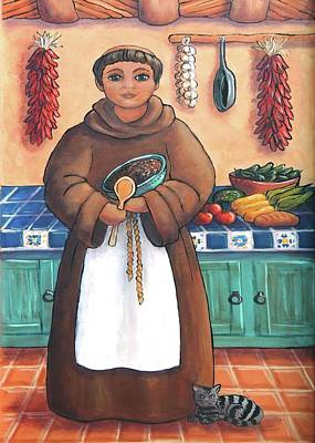 San Pascual In Brown Print by Candy Mayer