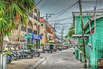 Photograph - San Pedro Town Center by David Zanzinger
