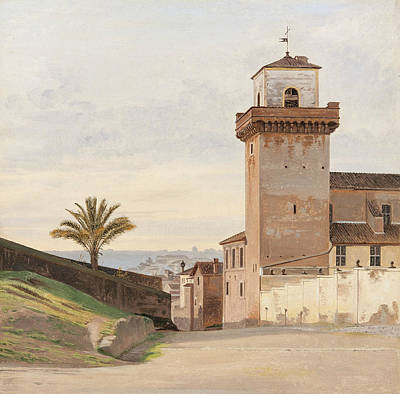 San Pietro In Vincoli Art Print by Constantin Hansen