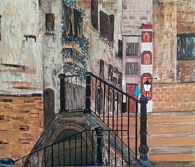Painting - San Polo Venice by Judi Goodwin