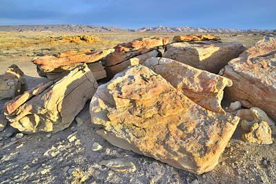 Photograph - San Rafael Desert Morning by Ray Mathis