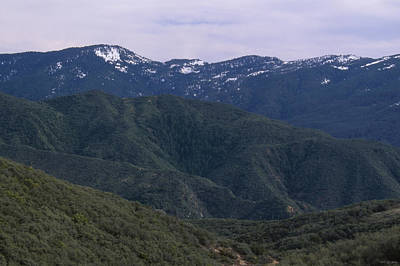 San Rafael Mountains Art Print by Soli Deo Gloria Wilderness And Wildlife Photography