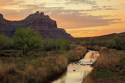 Photograph - San Rafael River by Johnny Adolphson