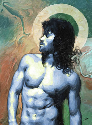 Atheist Painting - San Recesvinto by Joaquin Abella