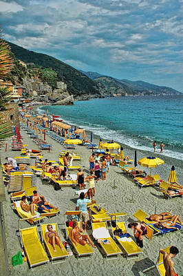 Photograph - San Remo - Italy by Allen Beatty