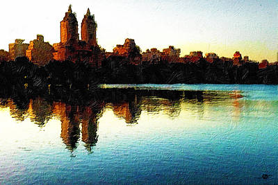 Painting - San Remo Nyc by Tony Rubino