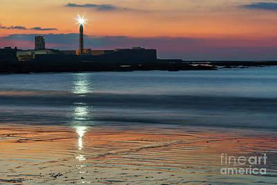 Photograph - San Sebastian Castle Lighthouse Cadiz Spain by Pablo Avanzini