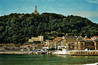 San Sebastian Spain Art Print by Mary Machare