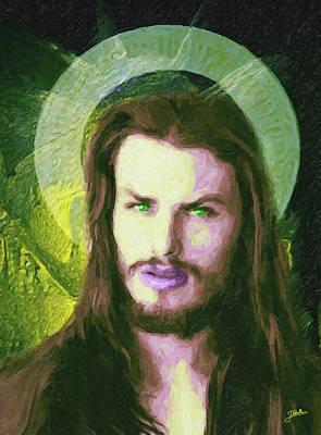 Atheist Painting - San Severo by Joaquin Abella