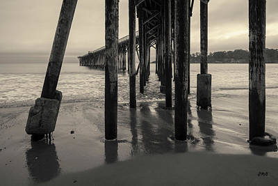 Photograph - San Simeon Pier I Toned by David Gordon