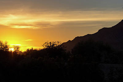 Photograph - San Tan Sunrise by Douglas Killourie