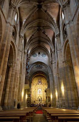Photograph - San Vicente Basilica Interior Avila Spain by Joan Carroll