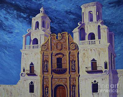 Painting - San Xavier by Cheryl Fecht