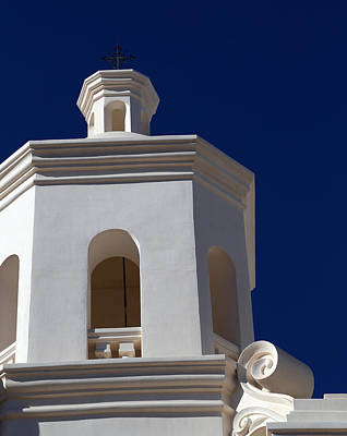Photograph - San Xavier Del Bac Detail 2 by Mary Bedy