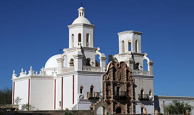 Photograph - San Xavier Del Bac 2 by Mary Bedy