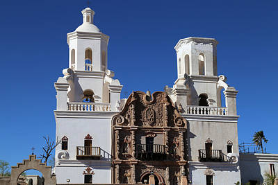 Photograph - San Xavier Del Bac 3 by Mary Bedy