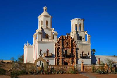 Photograph - San Xavier Del Bac by Kathryn Meyer