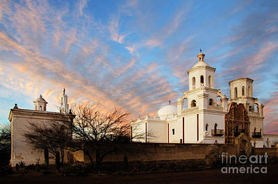 Photograph - San Xavier Del Bac Mission 2 by Bob Christopher