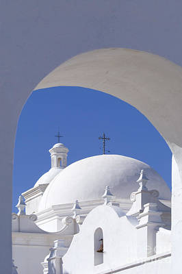 Photograph - San Xavier Del Bac by Sandra Bronstein