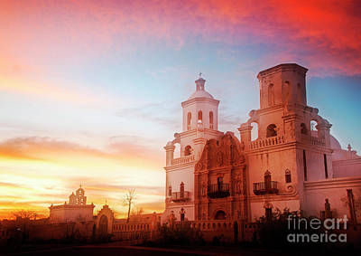 Photograph - San Xavier Del Bac by Scott Kemper