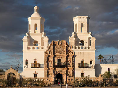 Photograph - San Xavier Del Bac by Scott Rackers