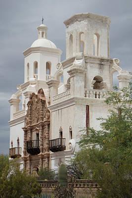Photograph - San Xavier Del Bac by Teresa Wilson