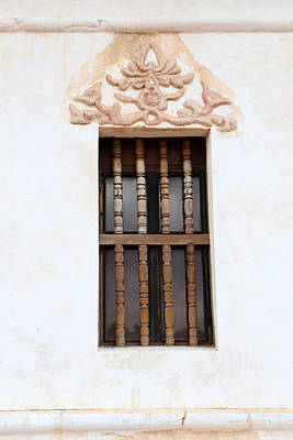 Photograph - San Xavier Del Bac Window Detail by Mary Bedy
