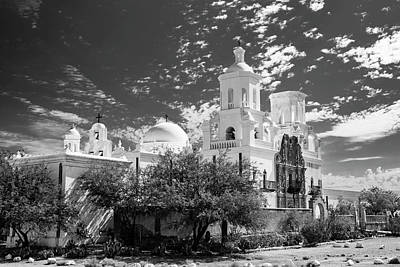 Impressionist Landscapes - San Xavier Morning by Guy Shultz